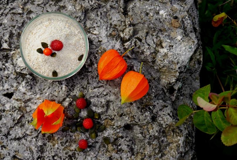 image ingrédients porridge